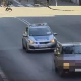 Uciekał przed pościgiem policji. Był pijany. Tłumaczył się, że powodem była kłótnia z żoną
