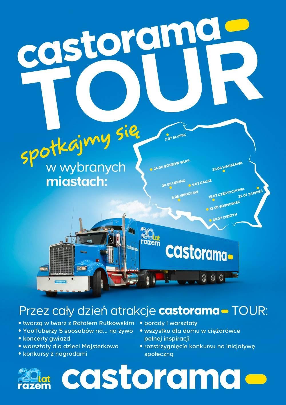 Casto Tour - cykl wakacyjnych imprez z Castoramą