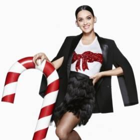 Katy Perry w świątecznej kampanii H&M – zobacz zdjęcia!