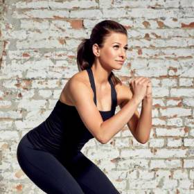 Anna Lewandowska pokazała, co robi Klara, gdy ona uprawia trening!
