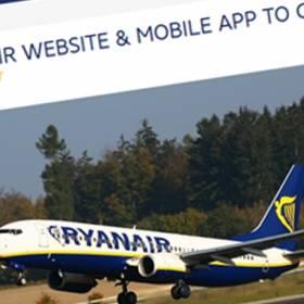 Ryanair zamyka swoją stroną internetową!