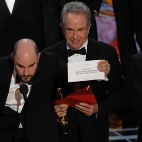 Skandal podczas gali rozdania Oscarów 2017!