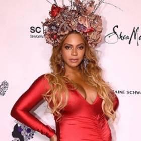 Beyonce na Wearable Art Gala: uwagę skupił nie brzuch, a usta!