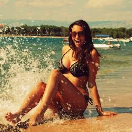 Magdalena, Margonin w stroju kąpielowym