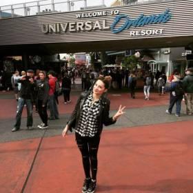 Ewelina Lisowska zwiedza USA