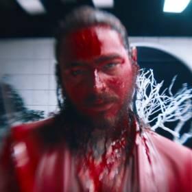 """Post Malone i 21 Savage w krwawym klipie do hitu """"Rockstar"""""""