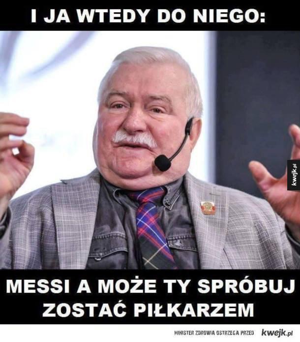 """Zobacz najśmieszniejsze memy z Lechem Wałęsą """"I wtedy mu powiedziałem…""""!"""