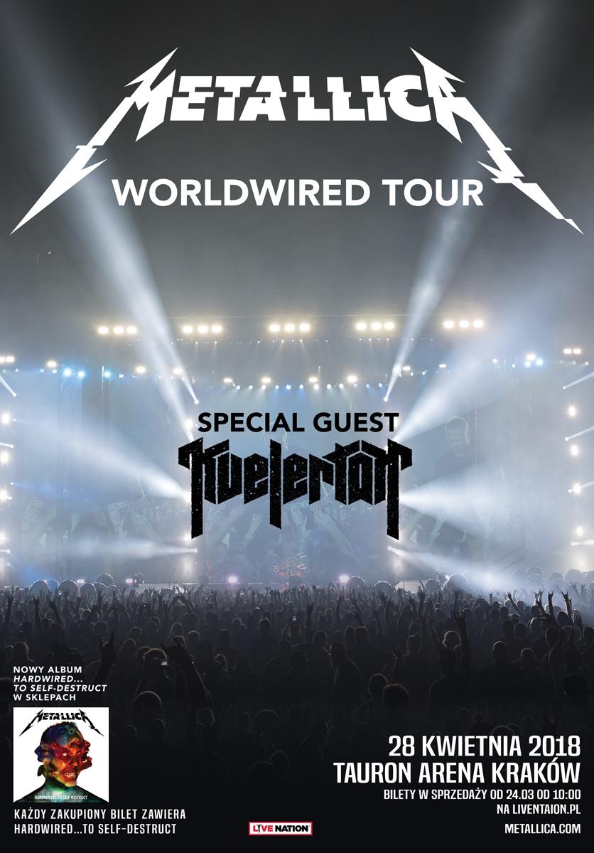 Metallica wraca z koncertem do Polski! Znamy szczegóły!