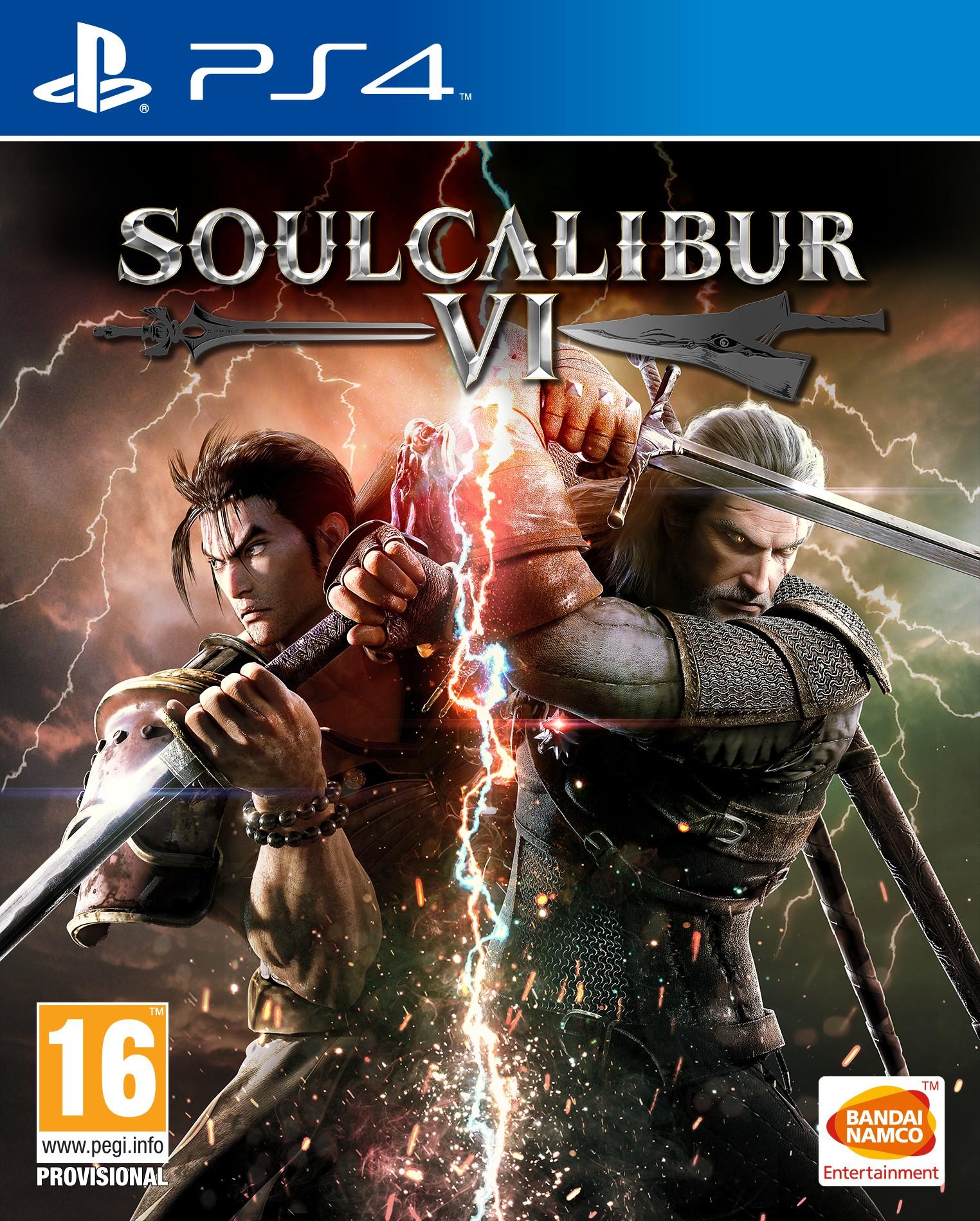 Wiedźmin: Geralt Rivii wśród postaci w SoulCalibur VI