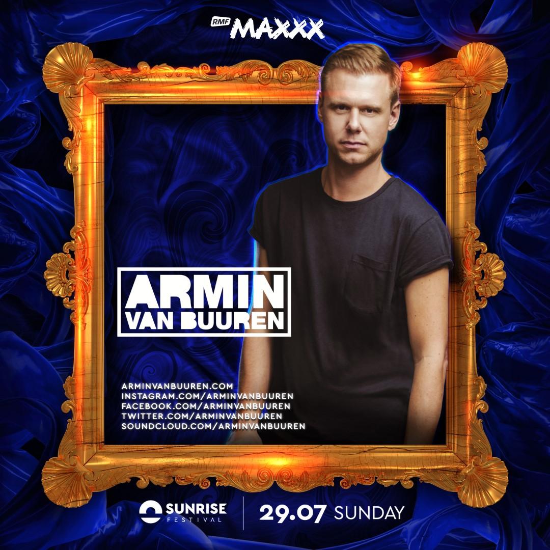 Armin van Buuren i Gromee kolejnymi gwiazdami Sunrise Festival 2018!