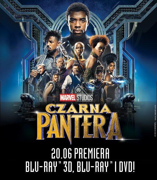 """Premiera """"Czarnej Pantery"""" na DVD i Blu-ray!"""