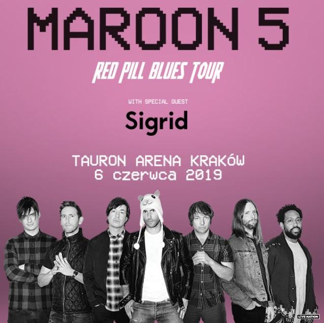Maroon 5 w Polsce! Grupa zagra na scenie Tauron Areny w Krakowie!