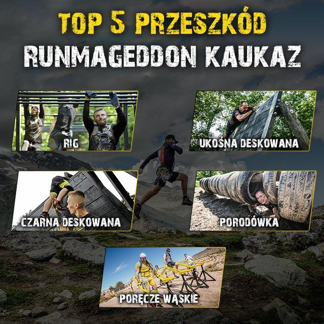 Ponad siedemdziesięciu odważnych Runmageddończyków sięgnie po szczyty Kaukazu