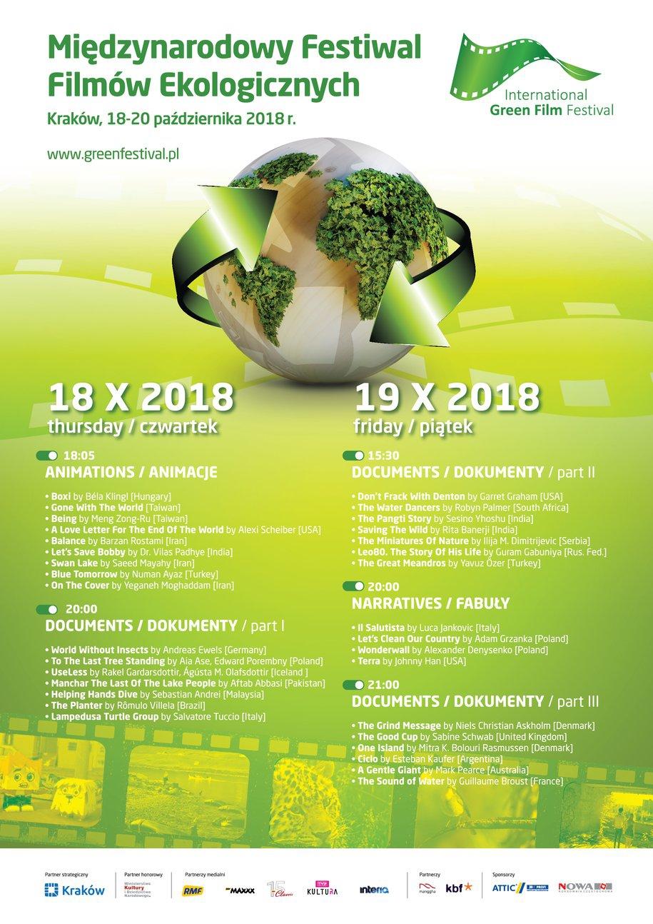 Międzynarodowy Festiwal Filmów Ekologicznych w Krakowie. Gdzie i kiedy? Program imprezy