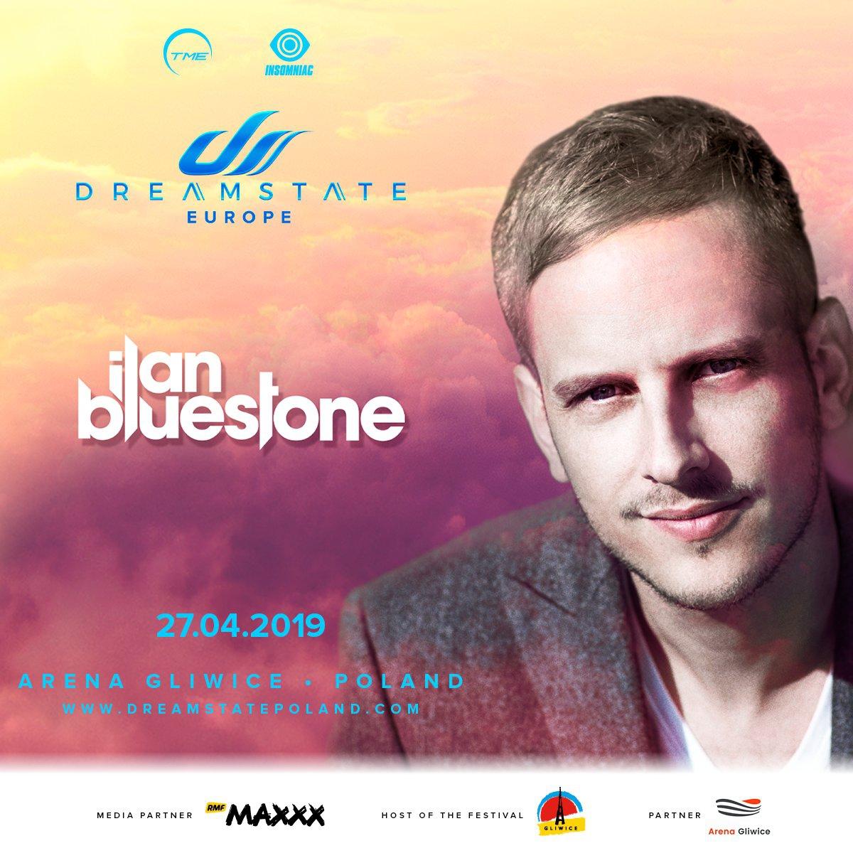 Dreamstate Europe 2019: ilan Bluestone dołącza do grona artystów, którzy pojawią się na scenie!