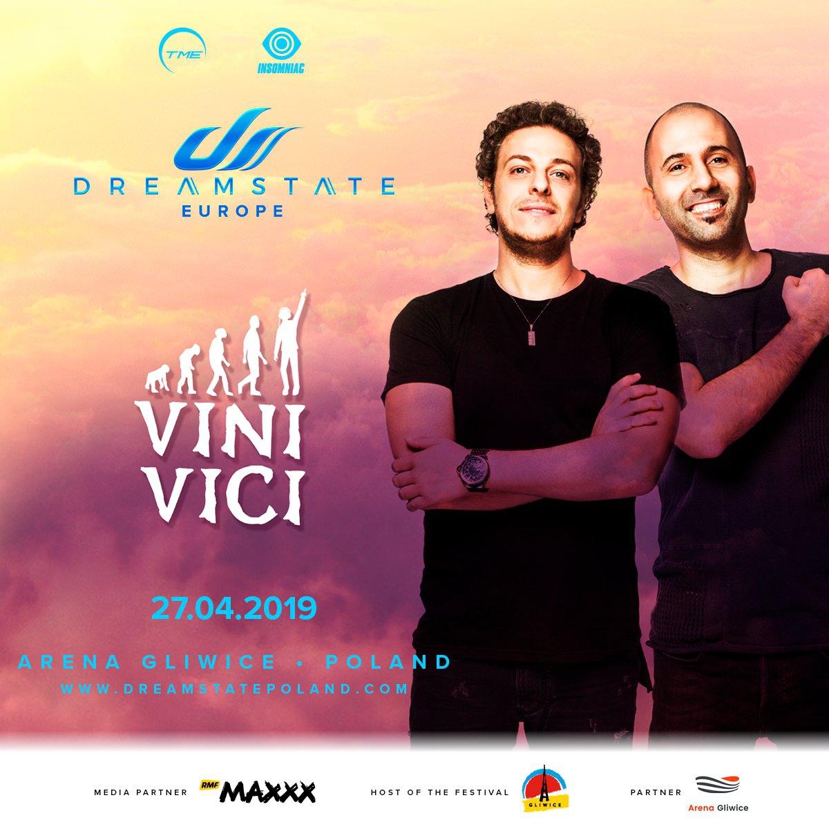 Dreamstate Europe 2019 : Niespodzianka od organizatorów! Do grona artystów dołącza duet Vini Vici!