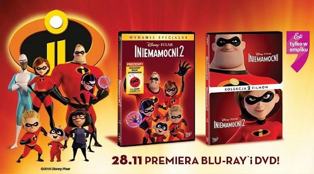 Rodzina Iniemamocnych powraca w nowym przeboju Disney Pixar na Blu-ray™ i DVD już od 28 listopada!