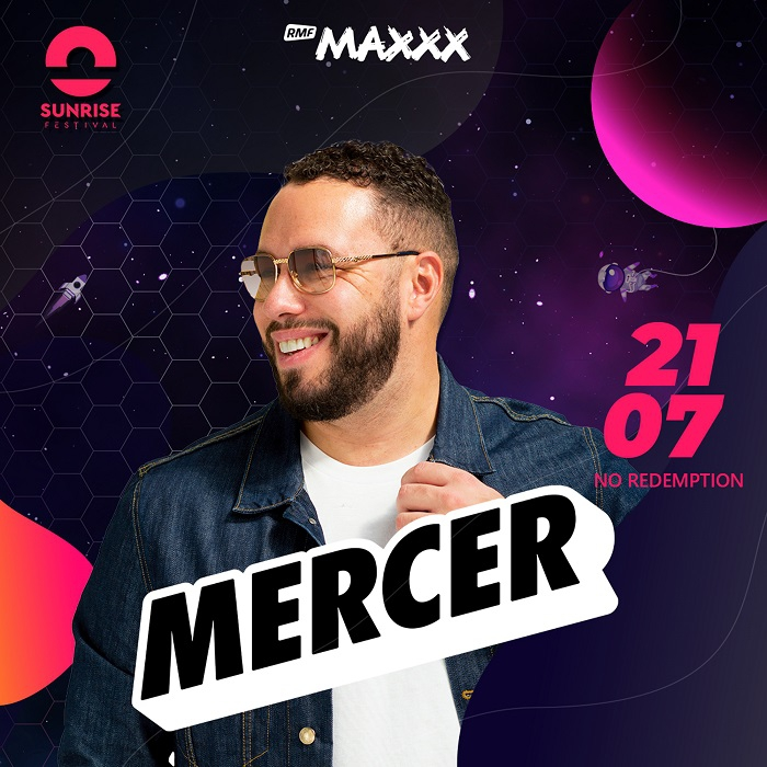 Mercer wystąpi na Sunrise Festival 2019!