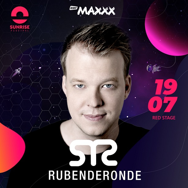 Ruben de Ronde kolejną gwiazdą Sunrise Festival 2019