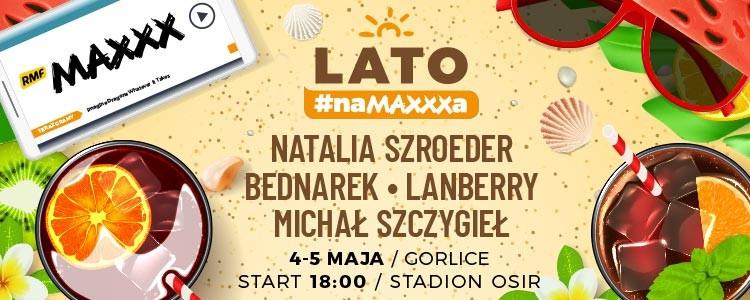 """To już po raz trzeci rusza najgorętsza radiowa trasa koncertowa """"Lato #naMAXXXa""""!"""