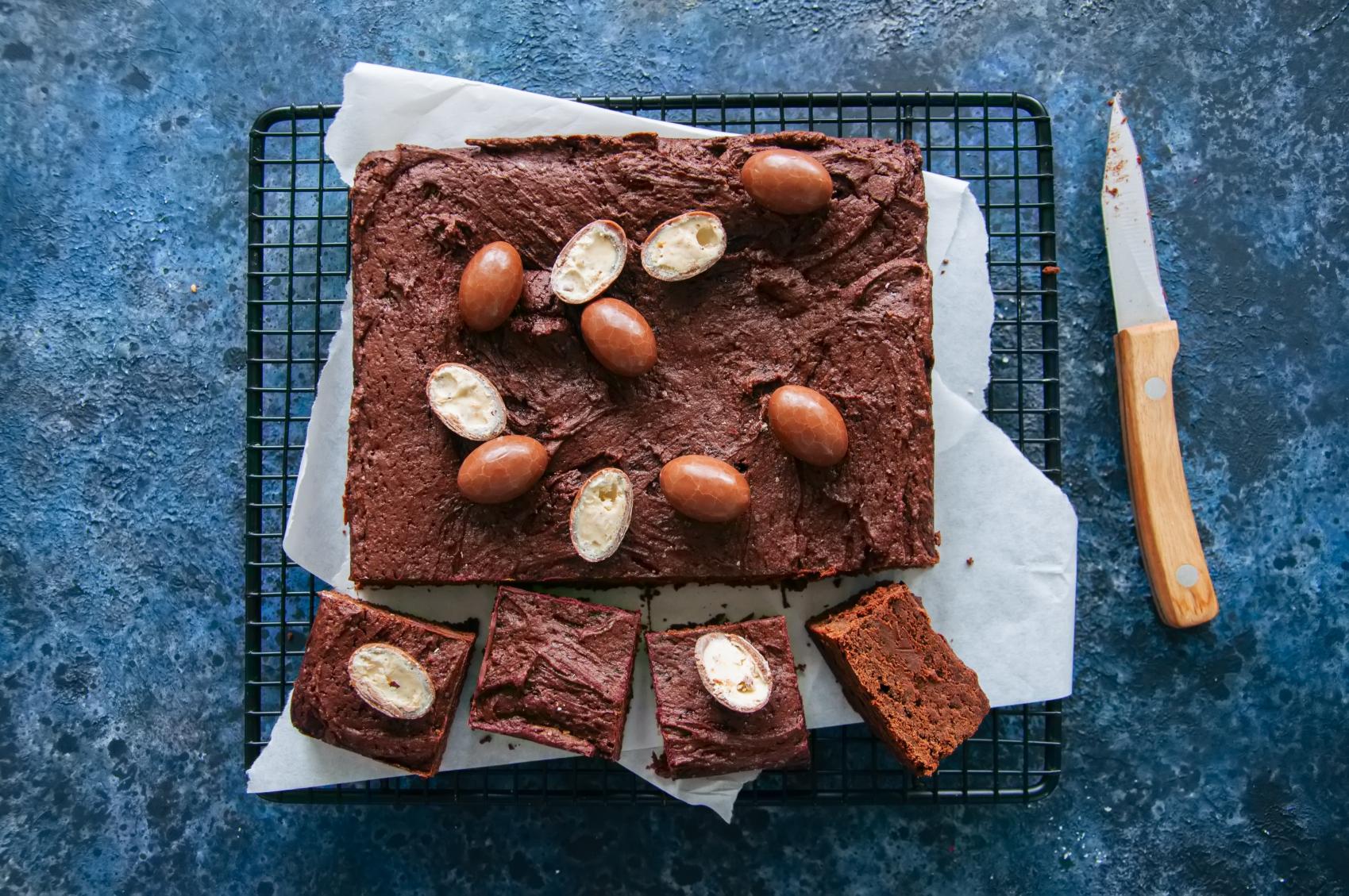 Wielkanoc: Zdrowe ciasto czekoladowe brownie od Anny Lewandowskiej [PRZEPIS]