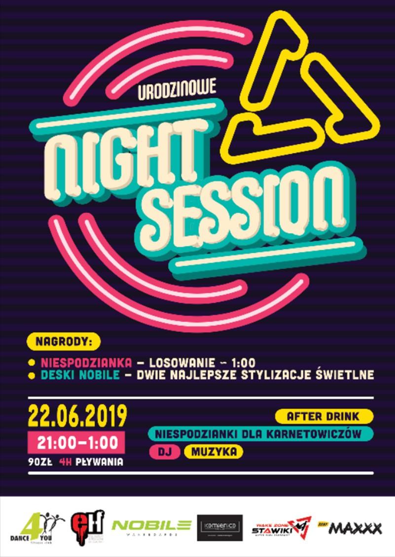 Nadchodzi wyjątkowe, urodzinowe Night Session! Sprawdź szczegóły!