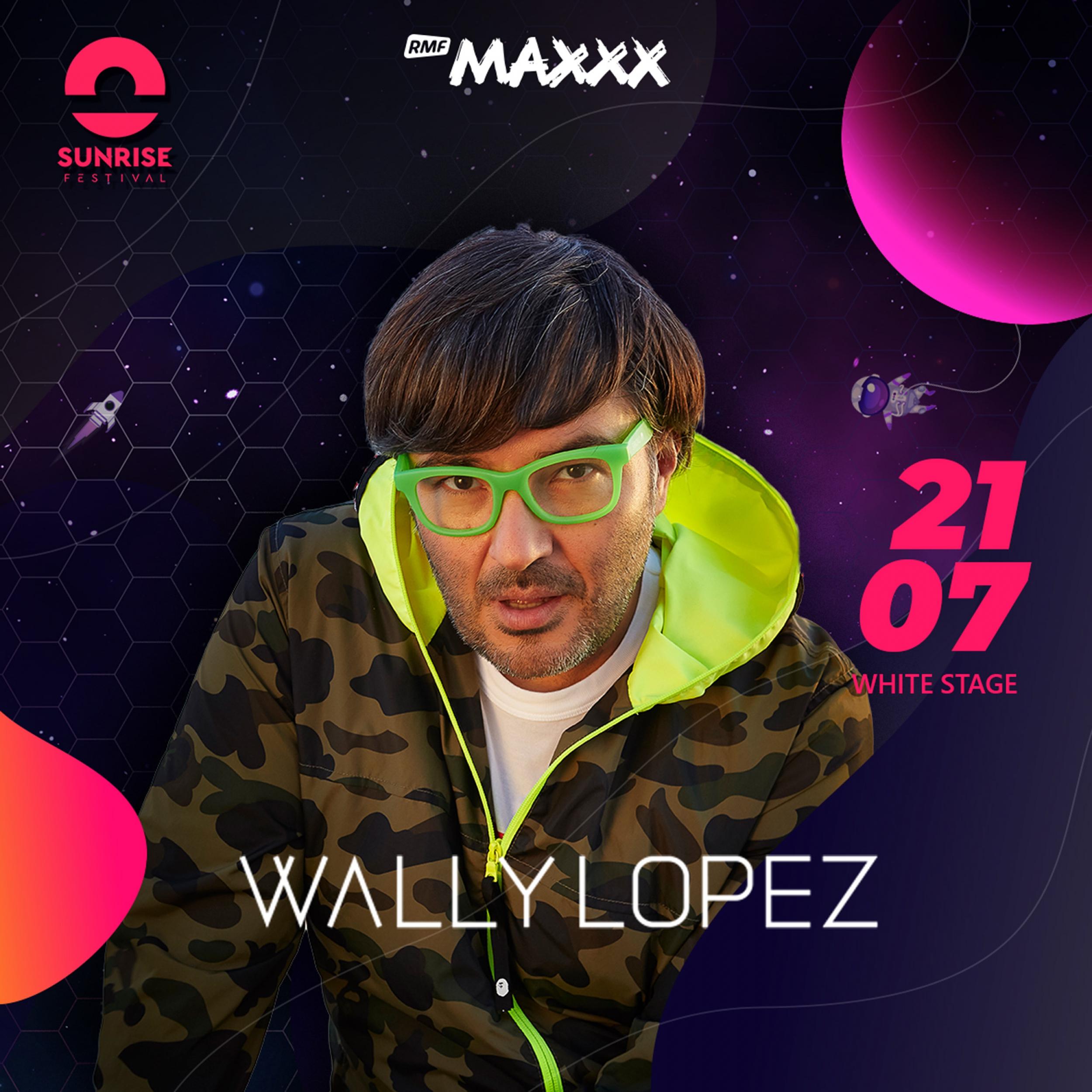 Wally Lopez na Sunrise Festival 2019! Sprawdź, kto jeszcze pojawi się na scenie!