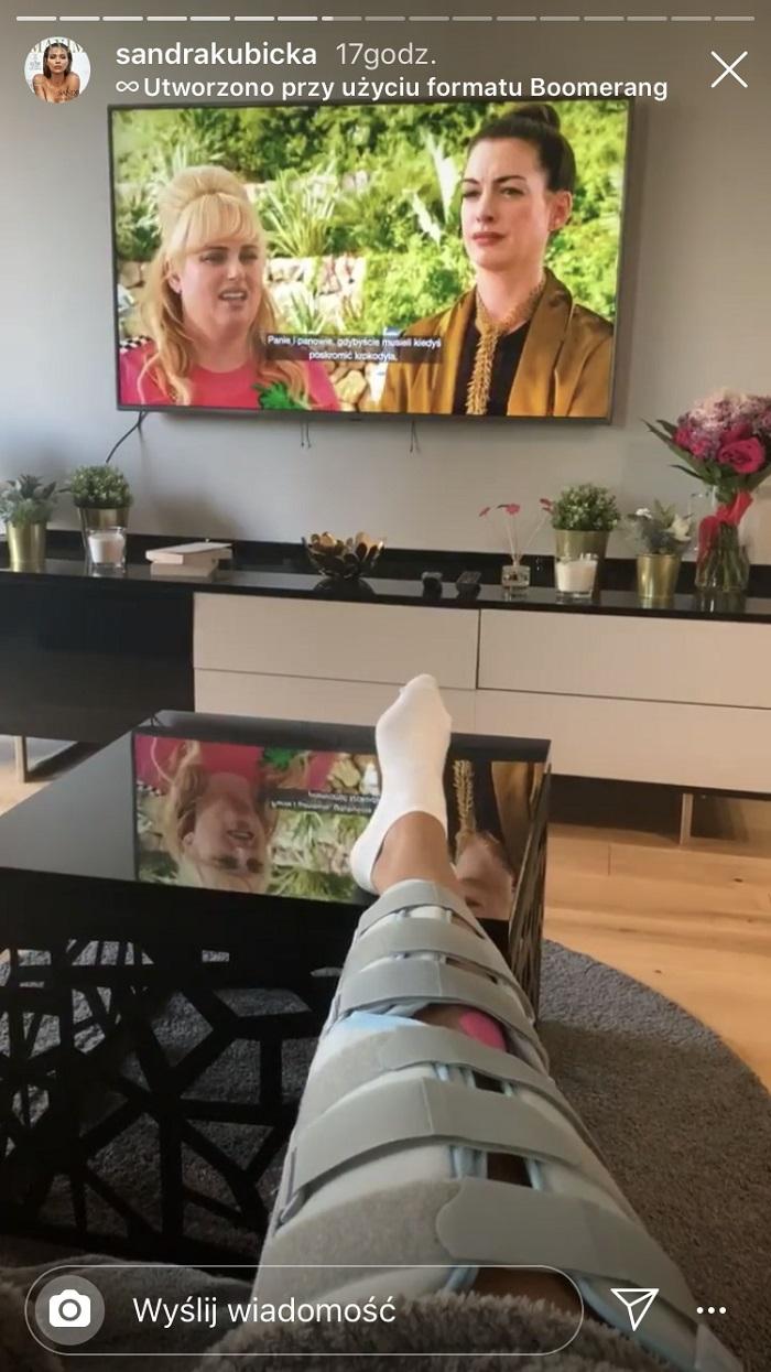 Sandra Kubicka doznała kontuzji kolana! Co z jej udziałem w Tańcu z Gwiazdami?