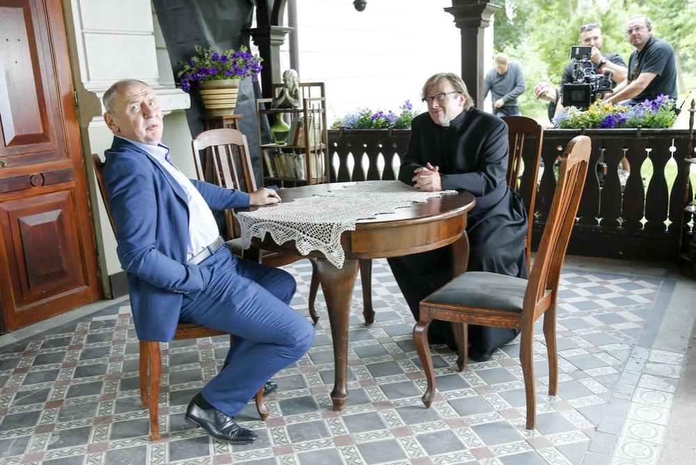 Andrzej Grabowski chudnie w oczach! Aktor jest coraz szczuplejszy