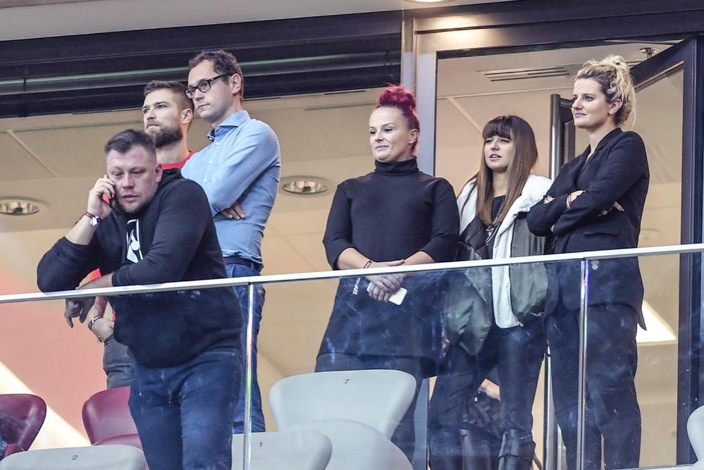 Wygrana biało-czerwonych nad Macedonią. Zobacz kto kibicował piłkarzom z trybuny stadionu