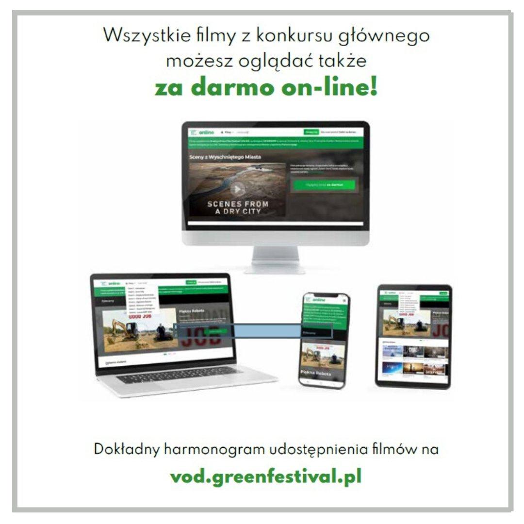 3. Kraków Green Film Festival. Ruszył bezpłatny serwis VOD!