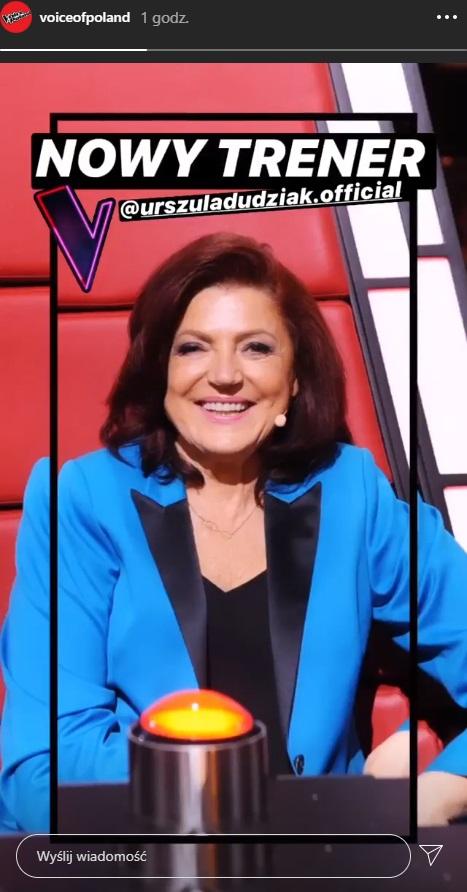 """""""The Voice of Poland 11"""". Wiemy, kto wystąpi zamiast Margaret! To gwiazda """"The Voice Senior"""""""