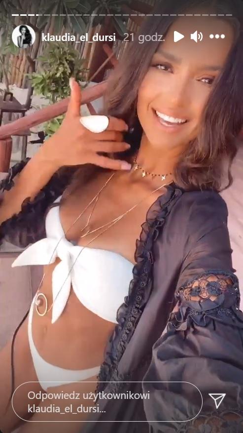 """Klaudia El Dursi pokazała ciało w bikini. Wygląda jak bogini. """"Najpiękniejsza kobieta na świecie"""""""