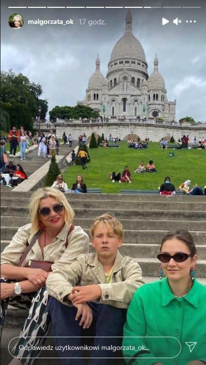 Małgorzata Ostrowska-Królikowska wraz z dziećmi na wakacjach. Tak wypoczywa chwilę po ślubie Antoniego! [ZDJĘCIA]