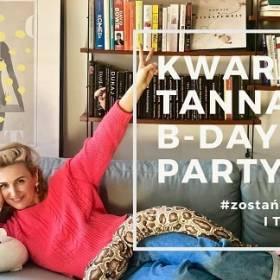 Kwarantanna B-Day Party z Reni Jusis. Piosenkarka zaprasza na swoją imprezę urodzinową