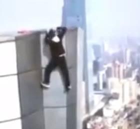 Słynny kaskader filmowy spadł z 62. piętra