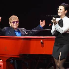 Demi Lovato i Elton John wystąpili w duecie