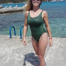Katarzyna, Częstochowa w stroju kąpielowym