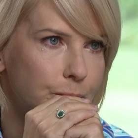 """Edyta Pazura zalała się łzami na wizji. """"Byłam aż sina z płaczu"""""""