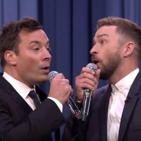 """Justin Timberlake i Jimmy Fallon w """"History of Rap 6"""" - wspólny występ piosenkarza i komika!"""