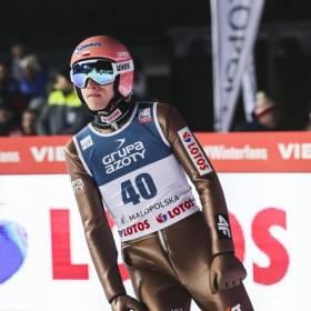 Puchar Świata w skokach narciarskich w Zakopanem: Czwarte miejsce Polaków po pierwszej serii konkursu drużynowego