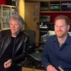 Jon Bon Jovi nagrał piosenkę z księciem Harrym! Będzie przebój?