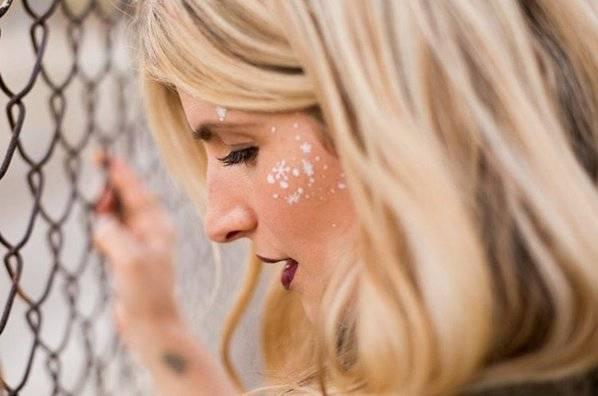Nowa Moda Białe Tatuaże Idealny Trend Na Zimę