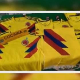 70 kilogramów kokainy ukrytych w replikach strojów reprezentacji Kolumbii. Udaremniono przemyt!