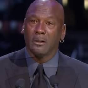 Zdruzgotany Michael Jordan zalany łzami. Tak żegnał Kobego Bryanta [WIDEO]