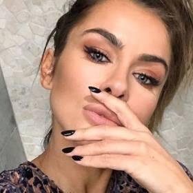"""Natalia Siwiec opublikowała zdjęcie z pierwszym """"makijażem"""" córeczki! """"Jak dziecko siedzi cicho to wiedz, że coś się dzieje"""""""