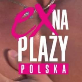 Ex na plaży POLSKA  plakat