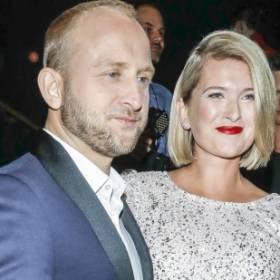 Borys Szyc został ojcem. Justyna Nagłowska pokazała urocze zdjęcie Henia i dodała chwytający za serce wpis