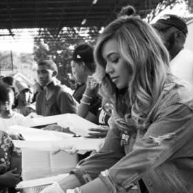Beyonce pomaga ofiarom huraganu Harvey. Osobiście wydała 400 obiadów